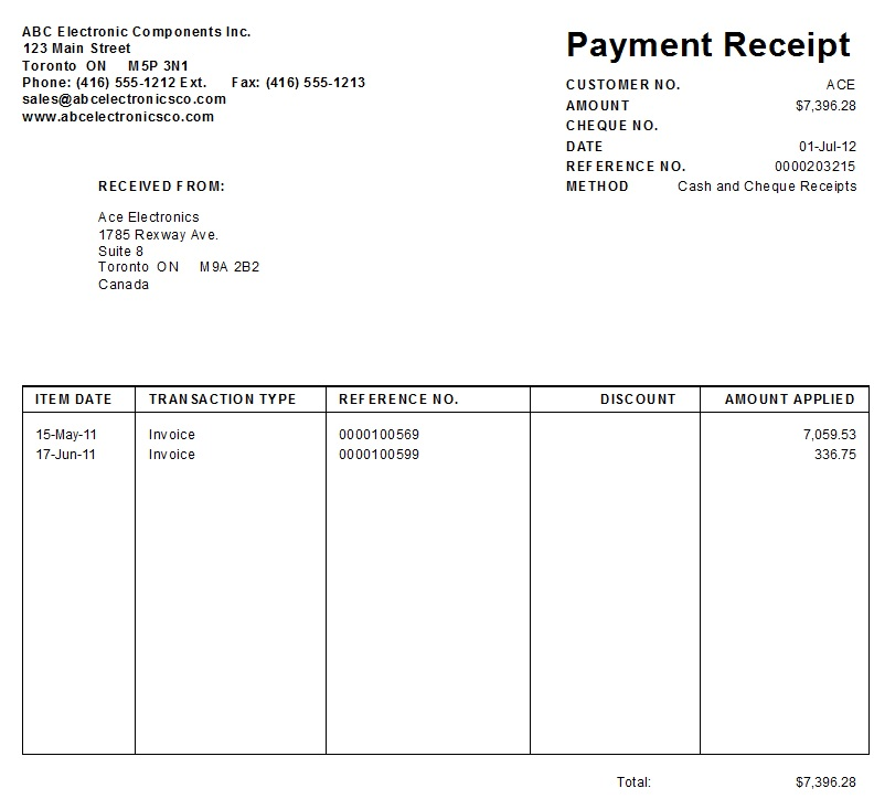 3) Tips and Tricks: How to Print AR Receipts - Sage BusinessVision ...