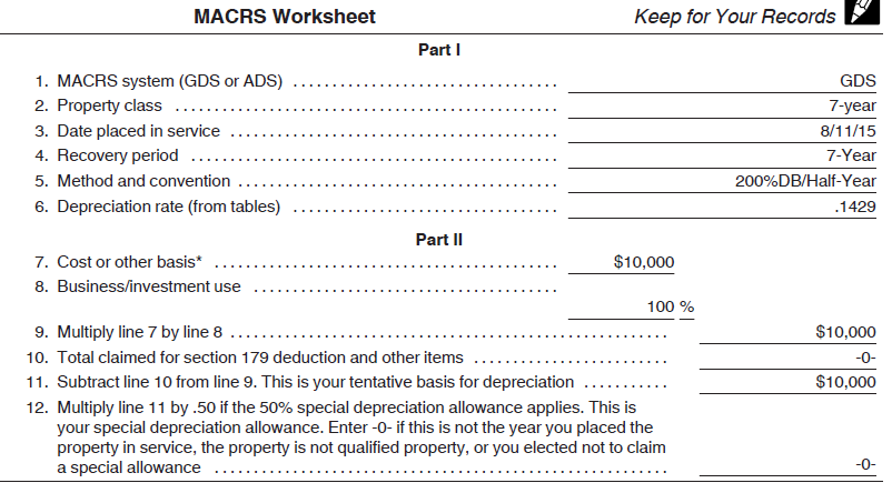 Depreciation Calculated Accurately Sage Fixed Assets Support – Irs Depreciation Worksheet