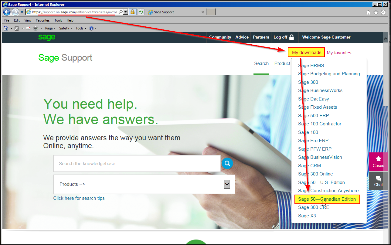 Where to Locate the Latest Sage Product Updates and Downloads - Sage