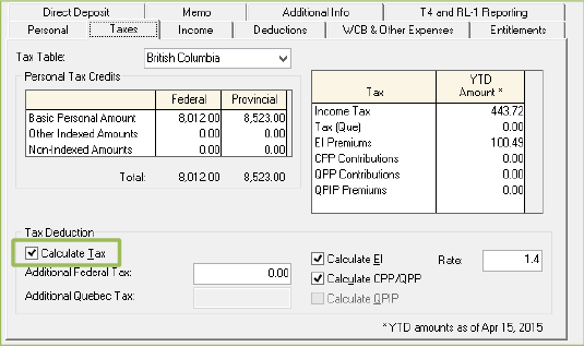 how to calculate how much tax you pay a week