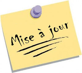 Image result for mise a jour