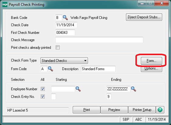 How To Mask Social Security Numbers On Pay Stubs For Sage 100