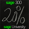 Sage 20% on selected Sage 300 anytime learning (ATL) courses - offer expires April 30, 2020