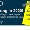 Sage 300 Customer Training Catalogue - Don't forget to book your Sage 300 training!