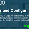 Schedule your Sage 300 Installing & Configuring v2020 training session ahead of time!