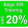 Check out our Sage 300 training summer promotion and save 20%