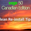 Sage 50 CA Clean Re-Install Tips