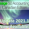 What's new in Sage 50 CA version 2021.1?