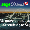 6 Steps for move data or connect Sage | Accounting to Sage 50 CA