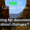 Accessing Sage 50 CA what's new documentation by version