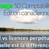 Un abonnement Sage 50cloud vs une licence perpétuelle, quelle est la différence?