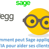 C'est qui Pegg? Comment peut Sage appliquer l'IA pour aider ses clients?