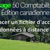Comment remplacer ou re-partager un fichier d'entreprise Sage 50 CA pour l'accès aux données à distance?