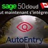 Comment commencer avec l'intégration récente de Sage 50 CA: AutoEntry