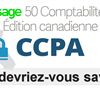 Réduction ou suppression des données client dans Sage 50 CA en cas de demande CCPA