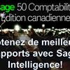 Comment configurer et utiliser Sage Intelligence Reporting dans Sage 50 CA?