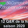 Top 12 Q&R pour Sage 50 CA pendant la haute saison 2020