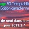 Quoi de neuf dans Sage 50 CA version 2021.2 ?