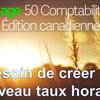 Comment configurer des différents taux de rémunération horaire dans Sage 50 CA
