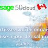 Comment modifier le salaire d'horaire dans Sage 50 CA