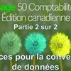Partie 2 de 2: Conseils de conversion de données pour Sage 50 CA