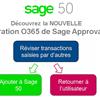 Sage Approvals: Apprenez à réviser, accepter ou refuser des transactions