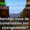 """Accès à la documentation """"Quoi de neuf?"""" de Sage 50 par version"""