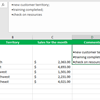 How to add bullet points to a field in Excel