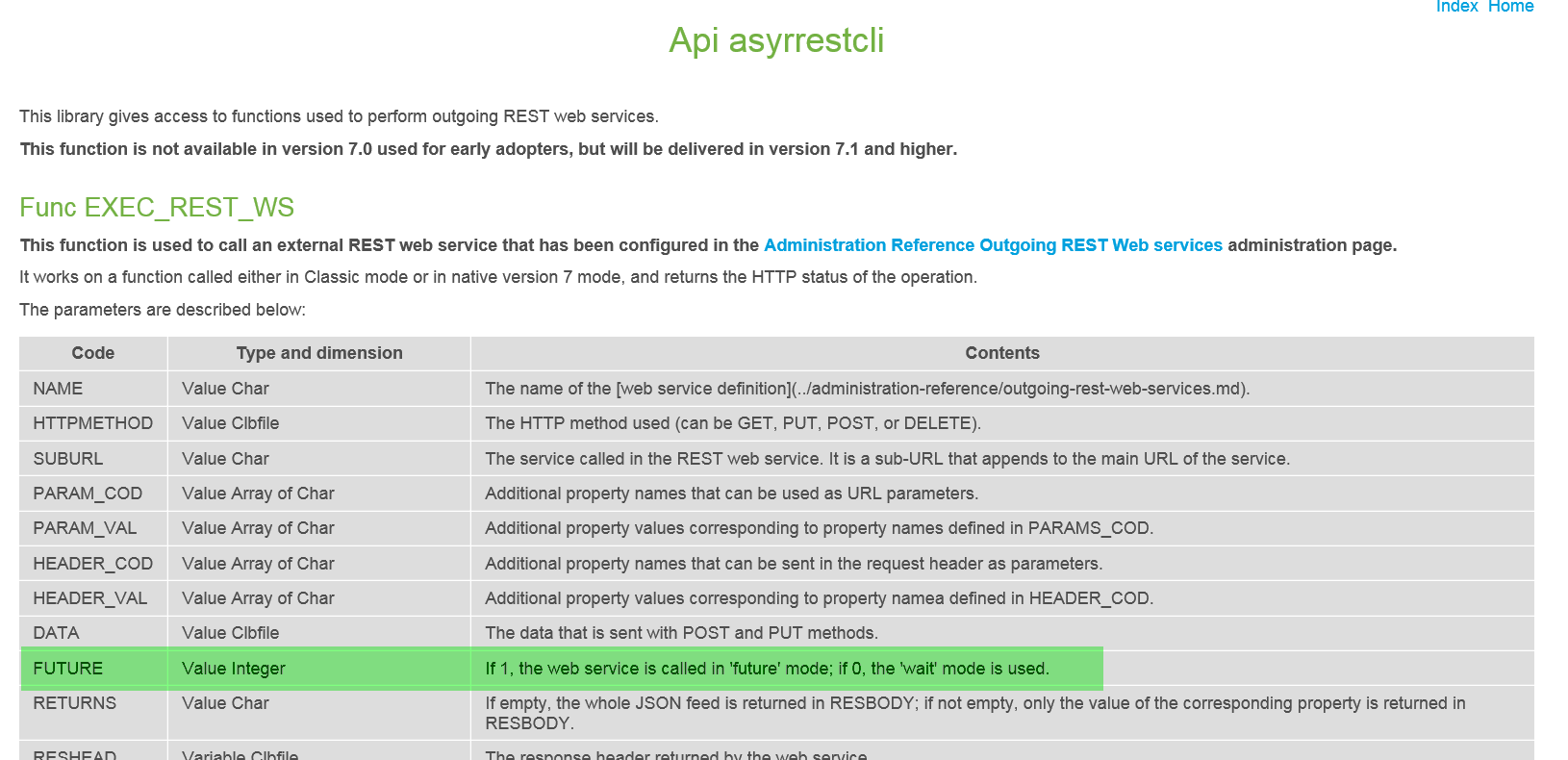How to call an external REST web services in classic