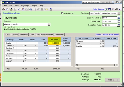 how to calculate payroll manually