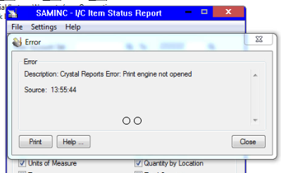crystal reports not exporting to pdf