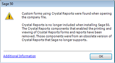 Crystal Reports and Sage 50 release 2014 3 by Erik Rissiek - Sage 50
