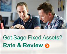 Sage Fixed Assets - Rate and Review