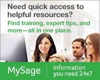 Link to My Sage website