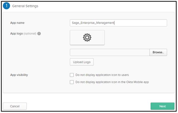How do I setup SAML2 authentication with Okta in Sage Ent