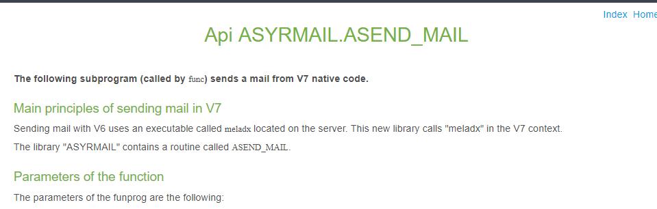 How To Send Mail Programmatically Enterprise Management X3